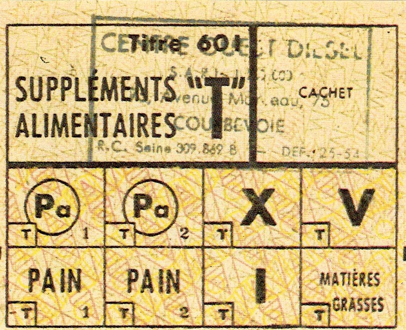ticket de pain